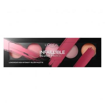 Poze Paleta farduri de obraz L'Oreal Paris Infaillible Blush Paint 02 Amber - 10g
