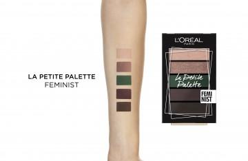 Paleta farduri pleoape L'Oreal Paris La Petite Palette Feminist - 4g