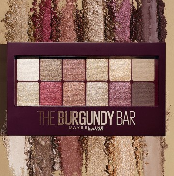 Poze Paleta farduri pleoape Maybelline New York Burgundy Bar - 9.6 g