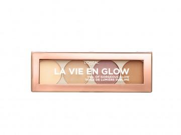Poze Paleta iluminatoare L'Oreal Paris La Vie En Glow 01 Warm Glow - 5 g