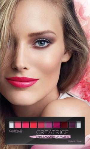 Paleta rujuri Catrice Creatrice Vinyl Lacquer Lip Palette 020 8,8g