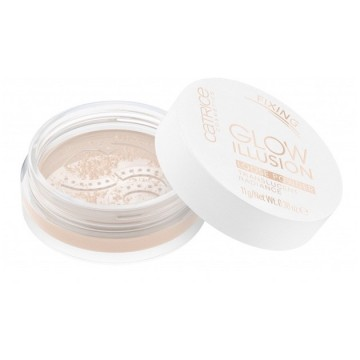 Poze Pudra Catrice GLOW ILLUSION LOOSE POWDER Translucent Radiance