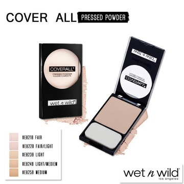 Poze Pudra compacta Wet n Wild Coverall Pressed Powder Fair/Light, 7.5 g