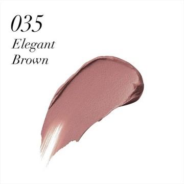 Ruj de buze lichid Max Factor Velvet Matte, 35 Elegant Brown, 3.5 ml