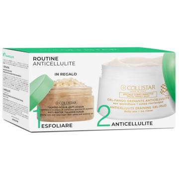 Set Collistar Anti-Cellulite Gel Mud 400 ml + Talasso Scrub 150 gr