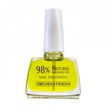 Tratament pentru unghii Seventeen 98% NATURAL MASSAGE OIL