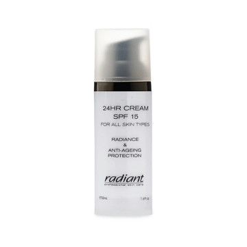 Crema de fata Radiant 24HRS CREAM SPF 15 (ALL SKIN TYPES) 25 ML