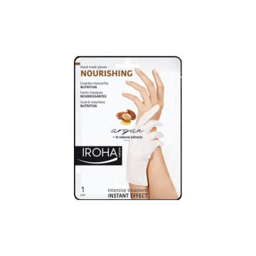 Crema de maini Iroha Hand Mask Gloves Nourishing Argan