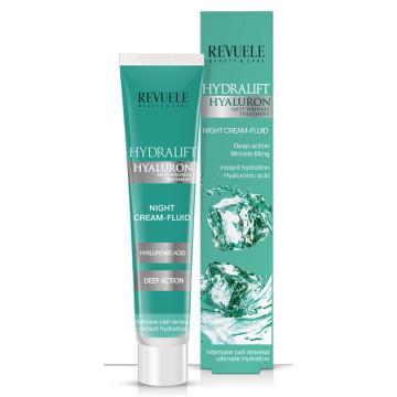 Crema de noapte Revuele Hydralift Hyaluron night cream-fluid 50 ml