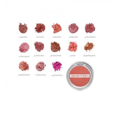 Poze Fard de Obraz Seventenn Silky Blusher No  49 - Sparkling Rose