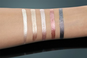 Poze Fard de ochi Catrice Liquid Metal Longlasting Cream Eyeshadow 060 When In Doubt, Add Glitter!