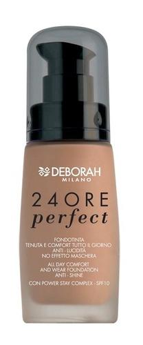 Poze Fond de ten Deborah 24Ore Perfect Foundation  N. 1 Fair, 30 ml