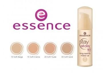 Fond de ten Essence stay all day 16h long-lasting make-up 10 Soft Beige 30 ml