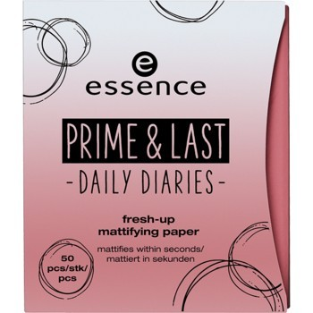 Hartie matifianta Essence prime & last -daily diaries- fresh-up mattifying paper 01