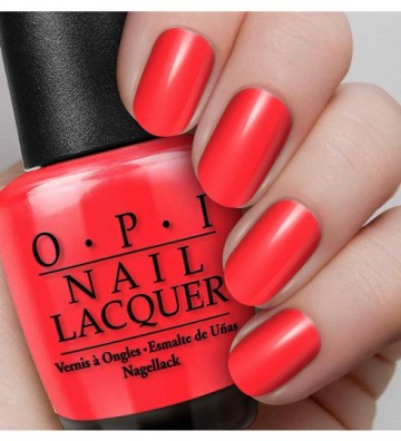 Poze Lac de unghii OPI NAIL LACQUER - Red My Fortune Cookie