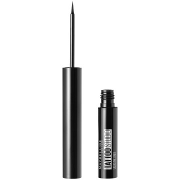 Poze Maybelline New York Tus lichid rezistent Tattoo Liner Liquid Ink 710 Ink Black, 2.5ml