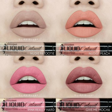Ruj mat Wet n Wild  MegaLast Liquid Catsuit Lipstick Give Me Mocha