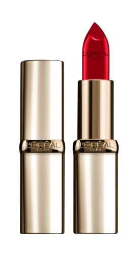 Poze Ruj satinat L'Oreal Paris Color Riche 377 Perfect Red - 4.8g