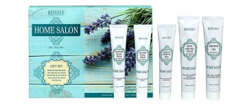 Set Revuele French Spa Set cu Lavanda, Verbina si Bujor