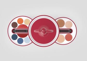 Trusa Deborah La Balerina Kit N01 Red
