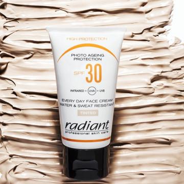 Crema protectie solara pentru fata Radiant PHOTO AGEING PROTECTION SPF 30 TINTED 25 ML