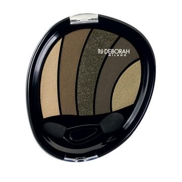 Fard de pleoape Deborah Perfect Smokey Eye Palette 05 Kaki, 5 g