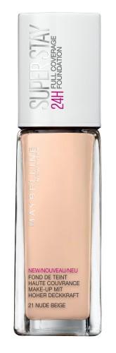 Poze Fond de ten lichid Maybelline New York Superstay 24H cu acoperire ridicata 21 Nude 30ml
