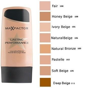 Fond de ten Max Factor Lasting Performance 106 Natural Beige
