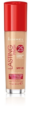 Poze Fond de ten Rimmel Lasting Finish, 203 True Beige