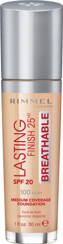 Poze Fond de ten Rimmel Lasting Finish Breathable 100 30ml