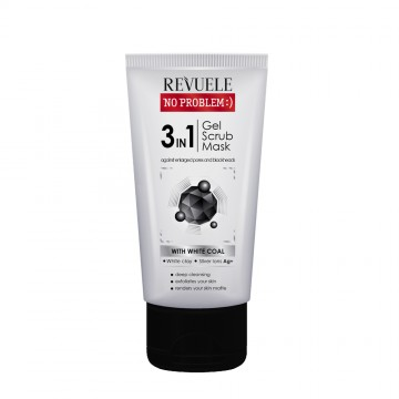 Poze Gel de curatare 3 in 1 Revuele no problem 3 in 1 (gel,scrub,mask) 150 ml