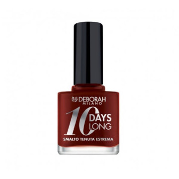 Lac de unghii Deborah 10 Days Long Nail Polish 905 Dark Red Rose