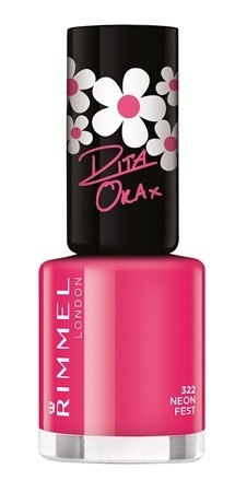 Poze Lac de unghii Rimmel 60 Seconds Shine by Rita Ora, 322 Neon Fest