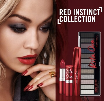 Lac de unghii Rimmel Super Gel by Rita Ora 003 Crimson Love Editie Limitata
