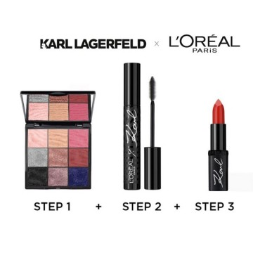 Mascara L'oreal Paris x Karl 00