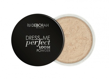Poze Pudra Deborah Dress Me Perfect Loose Powder 02 - Light Beige