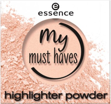 Poze Pudra iluminatoare Essence MY MUST HAVES HIGHLIGHTER POWDER