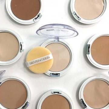 Poze Pudra Seventenn Natural Silky Transparent Compact Powder No 7 - Medium Caramel