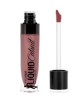 Ruj mat Wet n Wild  MegaLast Liquid Catsuit Lipstick Rebel Rose