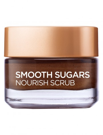Scrub exfoliant cu zahar pentru ten uscat L'Oreal Paris Smooth Sugars 50 ml
