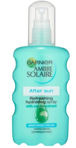 Poze Spray după plajă hidratant răcoritor Garnier Ambre Solaire 200ml