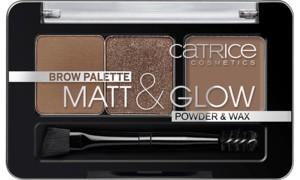 Poze Trusa farduri pentru sprancene Catrice Brow Palette Matt & Glow 010 Now Flash Lights