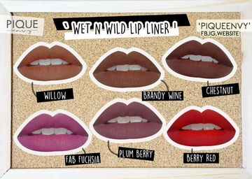Poze Creion de buze Wet n Wild Color Icon Lipliner Pencil Berry Red, 1.4 g