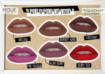 Creion de buze Wet n Wild Color Icon Lipliner Pencil Berry Red, 1.4 g