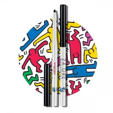 Poze Creion de Ochi Retractabil Rezistent la Apa Deborah Waterproof 24 Ore Eyepencil Keith Haring