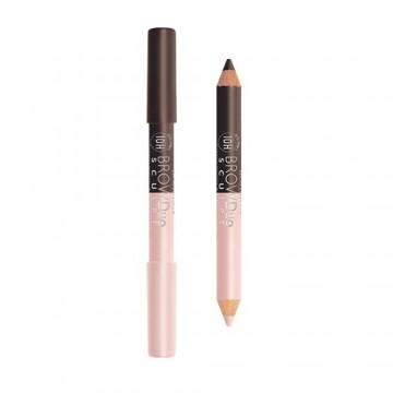 Poze Creion pentru sprancene Bourjois Brow Duo Sculpt Pencil 23 Brun