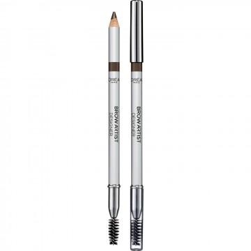 Poze Creion sprancene L'Oreal Paris Brow Artist Designer 303 Deep Brown 5g