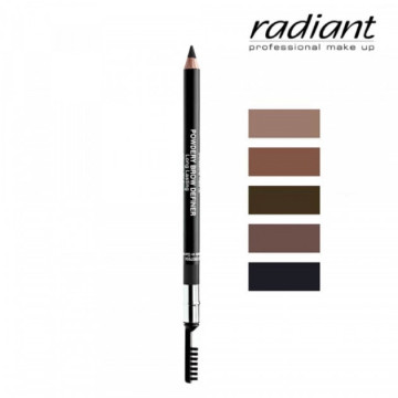 Creion sprancene RADIANT POWDER BROWN DEFINER NO 2 LIGHT BROWN