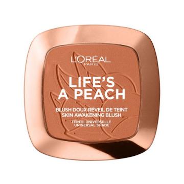 Poze Fard de obraz L'Oreal Paris Woke Up Like This 01 Life`s A Peach, 9g