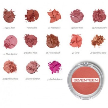 Poze Fard de obraz Seventeen Pearl Blush Powder   No 3 - Blush